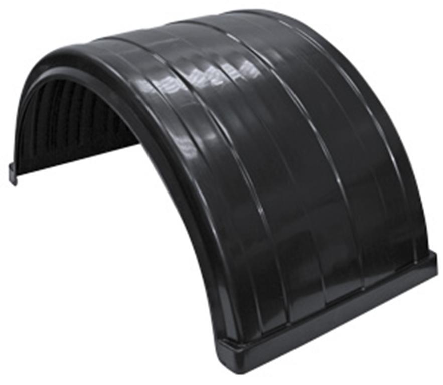 black plastic semi circle fenders